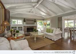 Cottage Living Room Designs by 15 Homey Country Cottage Decorating Ideas For Living Rooms Home