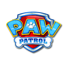 paw patrol logo 1 4 sheet edible birthday cake topper frosting