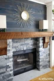 efficient wood burning fireplace design ideas stove stone makeover