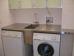 How To Decorate Stainless Steel Stainless Steel Laundry Sink Home Design By Fuller