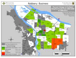 Portland Neighborhood Map Portland State Criminal Justice Policy Research Institute