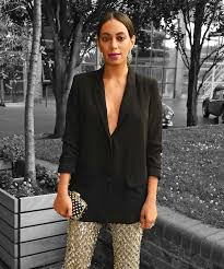 look to solange for your next cocktail party getup style