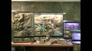 installing custom rock backgrounds for zoo med u0026 exo terra tanks