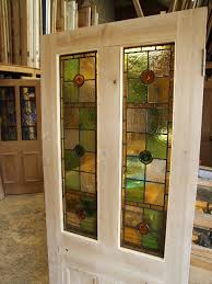 Antique Stained Glass Door by Reclaimed Antique Victorian And Edwardian Stained Glass Doors