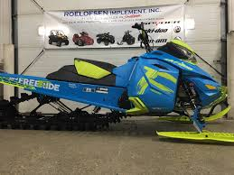 new or used ski doo enclosed snowmobiles for sale