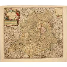 Bavaria Germany Map by 18th Century Map Of Palatinate Region Of Bavaria Germany Ober