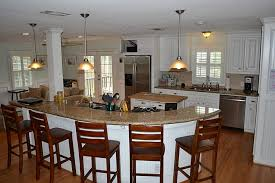 large kitchen island with seating kitchen magnificent large kitchen island with breakfast