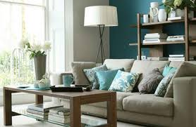 Warm Blue Color Blue Color Living Room Home Design Ideas