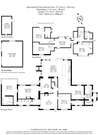 floor plan area calculator 5 bedroom property for sale in steep petersfield hampshire gu32