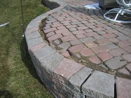 Building A Raised Patio Brick Pavers Canton Plymouth Northville Ann Arbor Patio Patios