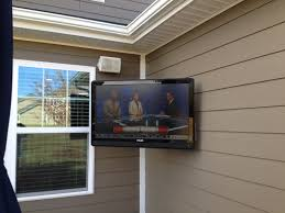 home theater wall stand outdoor flatscreen tv installation charlotte home theater