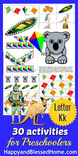 learn to read preschool alphabet letter k happy and blessed home