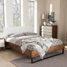 Bjs Bed Frame Baxton Studio Mitchell King Size Bed White Bj S Wholesale Club
