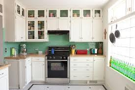 Green Tile Kitchen Backsplash Kitchen Delectable Designing Small Kitchen Decoration Using Light