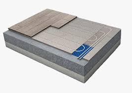 floor types for underfloor heating in