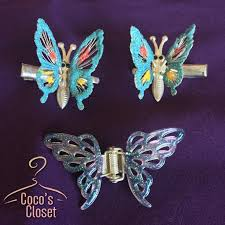 90s hair accessories accessories 90s vintage butterfly hair poshmark