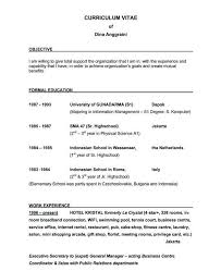Free Sample Resume Objectives by Example Of Resume Objective Resume Objective Project Manager Best