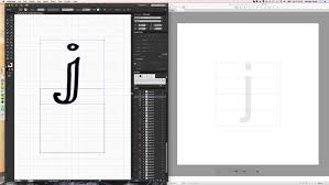 how to make your own font using glyphs and illustrator hello
