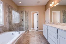 the master bathroom of the baldwin expanded floor plan by ball