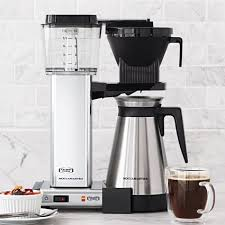 Coffee Maker Table Technivorm Moccamaster Coffee Maker With Thermal Carafe Polished