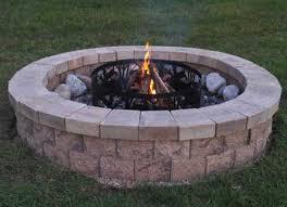 Block Firepit Allan Block Pit Designcreative Me