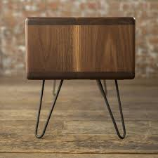 modern tv unit walnut midcentury modern hairpin leg tv stand by biggs u0026 quail