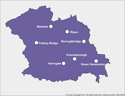 map uk harrogate harrogate and rural district ccg who we are