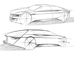 how to draw a car sketch in side view u2013 tutorial by jamie seymour