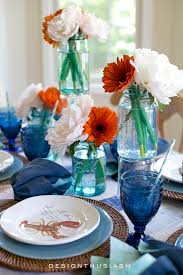 Nautical Table Decorations Summer Party Decorations 6 Colorful Tablescape Ideas