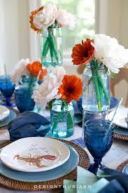 Nautical Table Decoration Ideas Summer Party Decorations 6 Colorful Tablescape Ideas