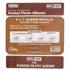 Pioneer Photo Album Refill Pages 28 Pioneer Photo Albums Refills Pioneer Photo Albums 4x7
