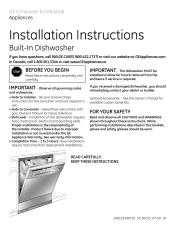 Hotpoint Dishwasher Manual Hotpoint Hda3600rbb 24 In Dishwasher Manual