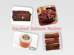 salmon gift basket smoked salmon gift basket ed s kasilof seafoods