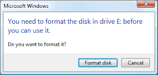 diskpart format abort solved fix the disk in drive is not formatted hard drive usb