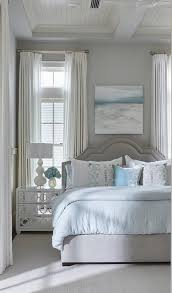 gray and blue beach style bedroom cottage bedroom