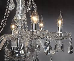 Knowing More About Amazing Dining Room Chandeliers Amazon Com Crystop Classic Vintage Crystal Candle Chandeliers