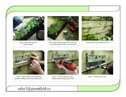 self watering green wall garden vertical wall garden irrigation