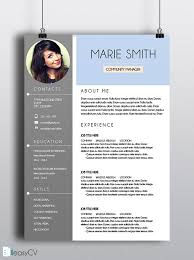 Eye Catching Words For Resume 30 Free U0026 Beautiful Resume Templates To Download U2026 Pinteres U2026