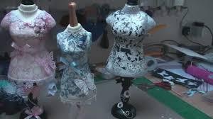 Decorating Dress Forms card making magic