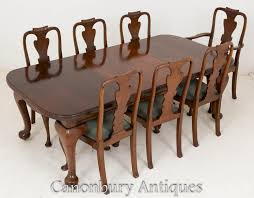 Victorian Dining Chairs Victorian Dining Set Mahogany Tables And Chairs 1900