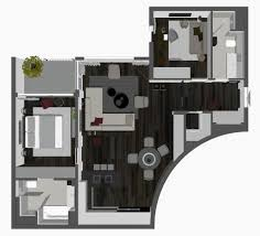 3d Apartment by 3d Floor Plan 3d Apartment Visualisation
