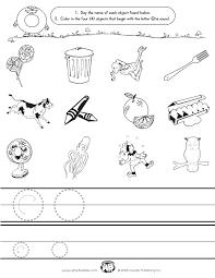 letter o worksheets for kindergarten u0026 kids under 7 letter o