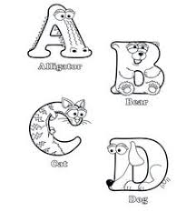 free alphabet coloring pages beautifully illustrated alphabet
