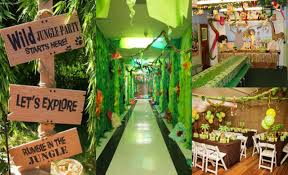 jungle theme decorations diy jungle theme decorations home design 2017