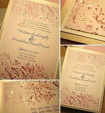 pink and gold wedding invitations and gold wedding invitations pink and gold wedding