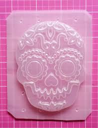 sugar skull molds skeleton mold sugar skull mold mold by sparklekittyresin 4