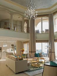 two story living room wonderful foyer window curtains designs with curtains two story
