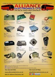 volvo commercial vehicle parts from alliance electronics ltd tel