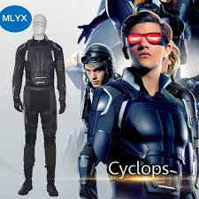 Apocalypse Halloween Costume Manluyunxiao Men Costume Apocalypse Cyclops Cosplay Costume
