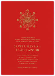 wedding card for indian wedding invitations online at paperless post